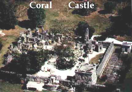 Ariel View of Coral Castle
